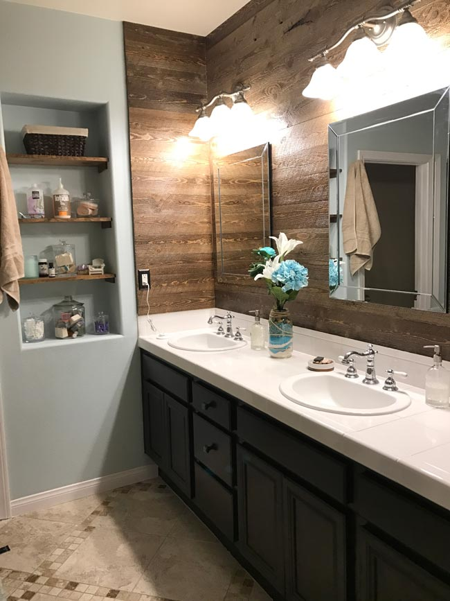 Refinish Bathroom Cabinets