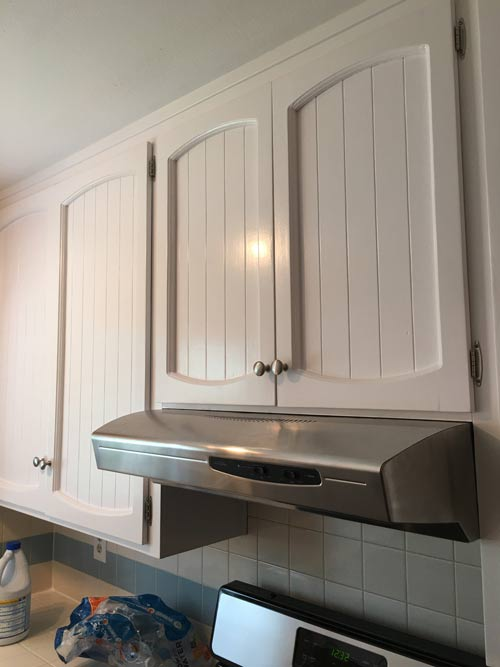 Painting 40-Year Old Cabinets - Perfectly Inspired