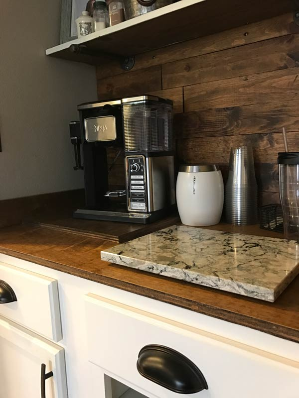 Completed Coffee And Wine Bar