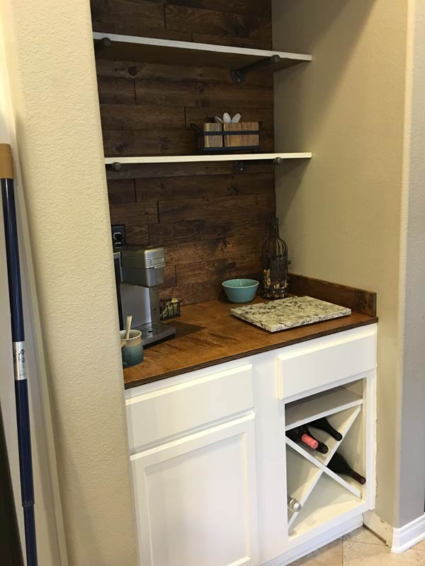 Diy Beverage Bar Perfectly Inspired
