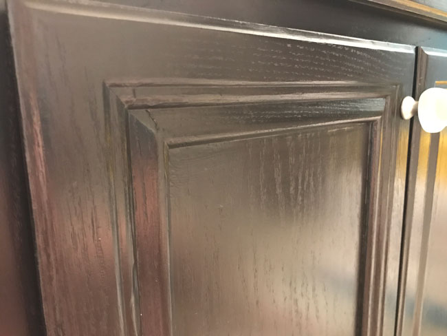 How To Paint Cabinets With Gel Stain Diy Perfectly Inspired