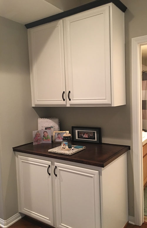 Painted Cabinets   Linen Closet Makeover   Pro Results