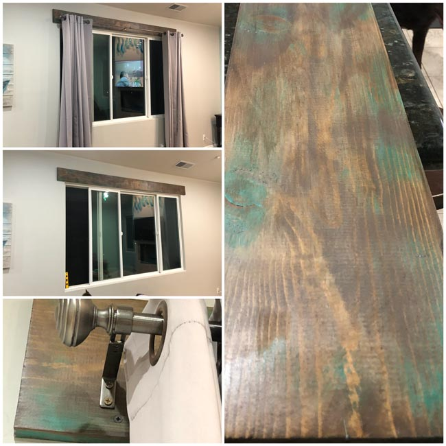 My Finished For Now Kitchen From Kelly Green To Teal: Easy Paint & Stain Effects On Wood