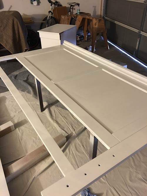 How to Paint Cabinets / Wood and Get Pro Results - Perfectly