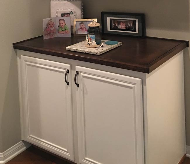 Painting Builders Grade Cabinets